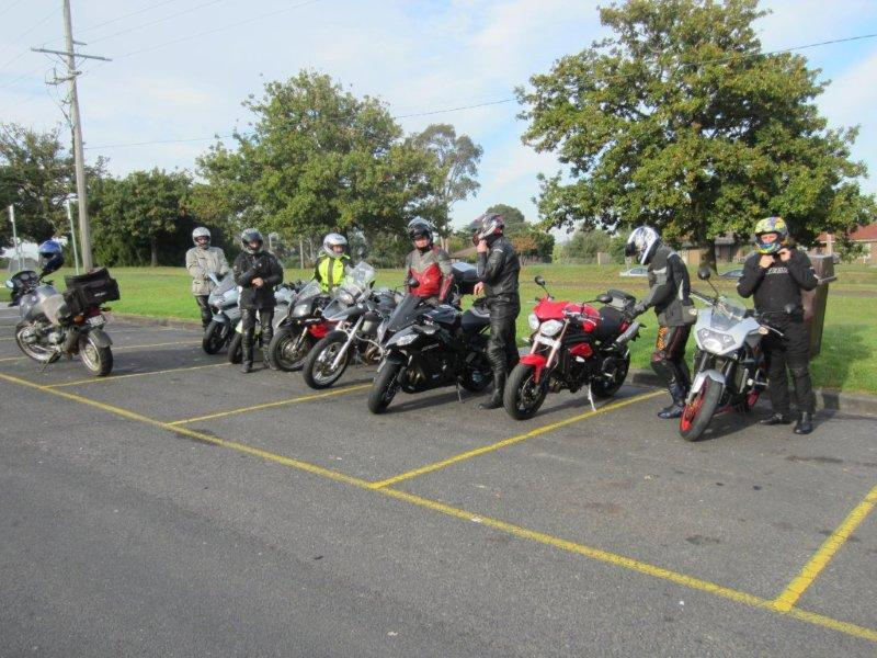June 2012 Narre Warren start